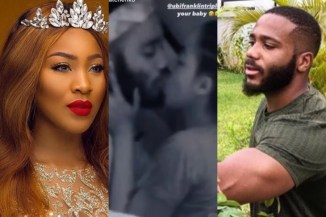 #BBNaija2020: Erica & Kiddwaya Caught Making Love With Kiddwaya Moments After Saying She Is Done With Him