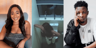 #BBNaija2020: Erica Captured Crying Uncontrollably After Losing Laycon (WATCH  VIDEO)
