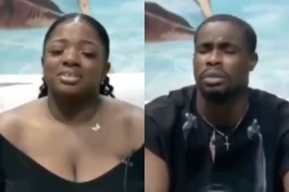 #BBNaija2020: Watch How Neo And Dorathy Cried During The Voting Exercise In The Diary Room (Watch Video)