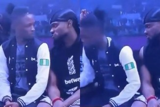 #BBNaija2020: Watch How Prince Embarrassed Laycon So He Can Spend Time With Tolanibaj (Watch Video)