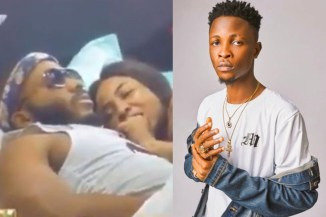 """#BBNaija2020: """"I Don't Want You To Stop Making Out With Kiddwaya,"""" – Laycon Tells Erica (Video)"""