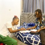 BREAKING: Naira Marley Signs New Artiste To His Label, Marlian Music (PHOTOS)