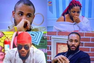 #BBNaija2020: Dorathy, Kiddwaya, Ozo And Prince Are Up For Possible Eviction For Week 9