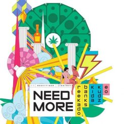 MP3: Reekado Banks ft. Kida Kudz & EO – Need More