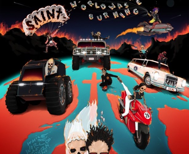 SAINt JHN – While The World Was Burning (Zip File)