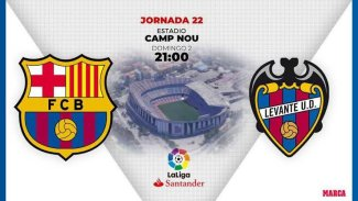 STREAM LIVE: Barcelona Vs Levante [Watch Now] LA LIGA 2020/2021