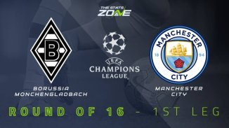 STREAM LIVE: Borussia Moenchengladbach Vs Manchester City [Watch Now] CHAMPIONS LEAGUE 2020/2021