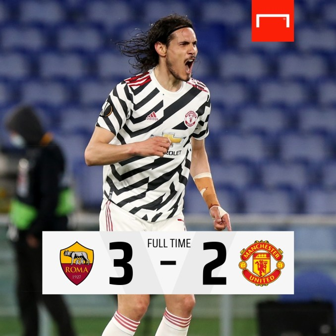 AS Roma vs Manchester United 3-2 Highlight