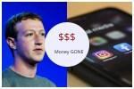 Money gone!! Mark Zuckerberg loses billions after Facebook, Whatsapp and Instagram crashed