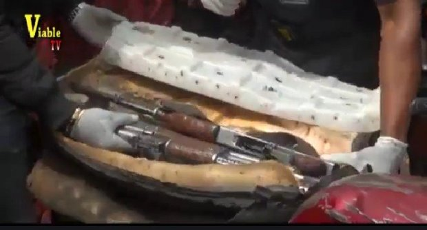 See What Was Found In The Seat Of An Okada In Lagos (Photos)