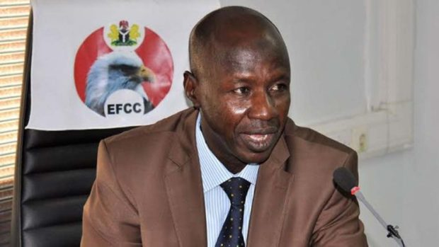Video Of EFCC Chairman Saying 'Coronavirus Is Caused By Corruption' (Watch)