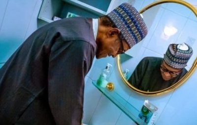 BE INFORMED!!! President Buhari Teaches Nigerians On How To Wash Hands Effectively (Watch Video)