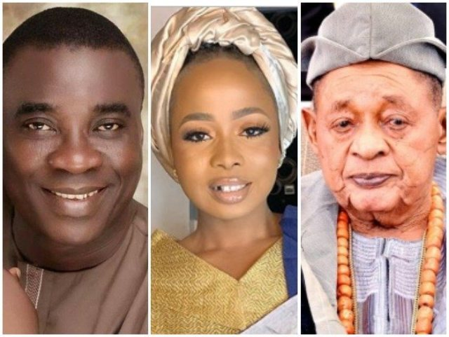 """""""May The Orishas Punish Me"""" – Allegedly Displaced Alaafin's Wife Reacts To Kwam 1 Affair Again (Wach Video)"""
