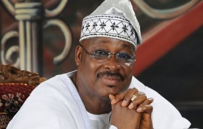 Late Oyo Governor, Ajimobi, Buried At Oluyole Amidst Tight Security