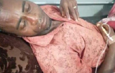 OUCH!!The Picture Of The Man Whose Wife Cut Off His Pen*s Has Been Revealed (See Photo)