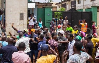 COVID-19! Drama As Niger Assembly Discover Palliative Items Stacked In A Secret Warehouse