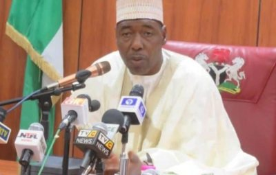 Soldiers, Not Boko Haram, Attacked My Convoy – Borno Governor