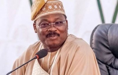 IS THIS RIGHT? Former Oyo State Gov, Ajimobi's Buried In Expensive Graveyard With Air Conditioner – Amidst Adject Poverty In Oyo!