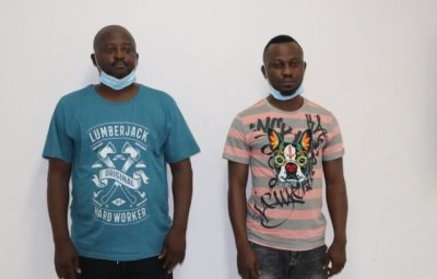 Two Nigerians Arrested By INTERPOL For €14.7 Million COVID-19 Scam (Photo)