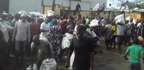 Hoodlums Attack Warehouse, Loot COVID-19 Palliatives In Lagos