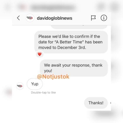 """Just Like Wizkid, Davido Changed The Date For His """"A Better Time """" Album Release (See New Date)"""