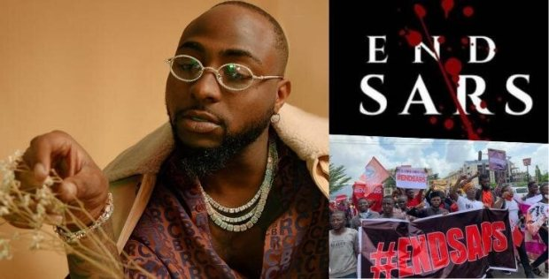 #ENDSARS: Davido Calls For Buhari's Resignation After Lekki Massacre
