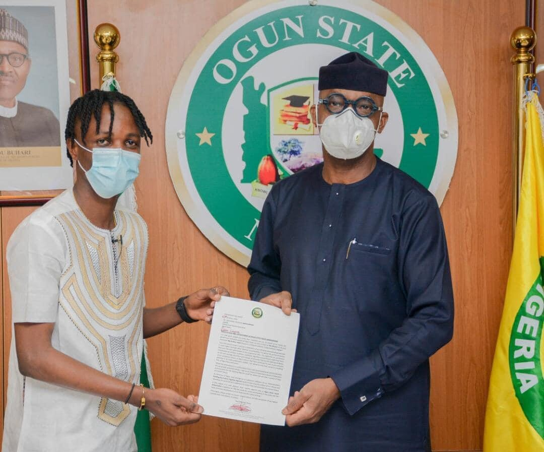 BBNaija's Laycon Conferred with Chieftaincy Title in Ogun State