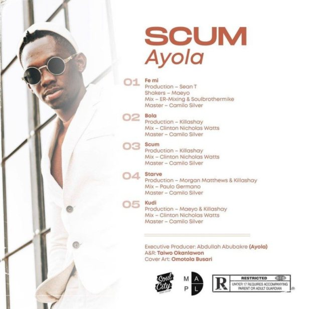 AfroSoul singer Ayola finally drops 'Scum' EP