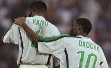 Okocha Beats Kanu to be Greatest Nigerian Footballer