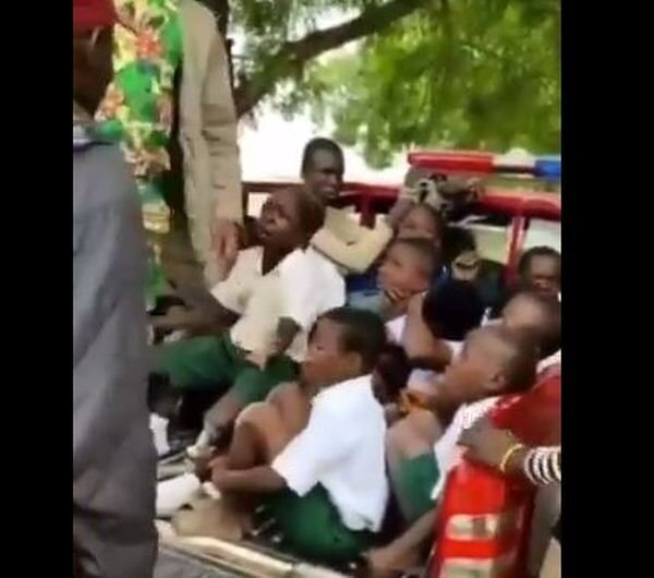 Sense Or Stupidity? Amotekun Officials Arrest School Children Because They Called Themselves Marlians (Watch Video)