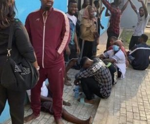 PHOTOS: Mr Macaroni, other Lekki tollgate protesters granted bail