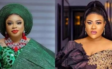 Bobrisky and Nollywood Actress Nkechi Blessing Fight Ugly