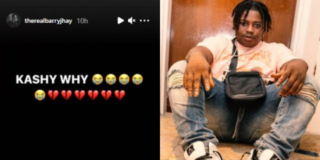 UPDATE!! Barry Jhay Finally Speaks on Death of Record Label Boss Kashy