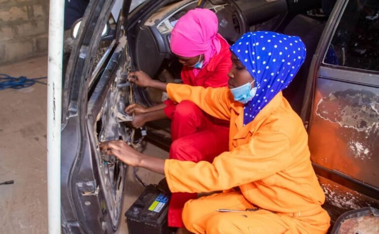Happy International Women's Day! First All-Female Mechanic Shop Opens In Sokoto