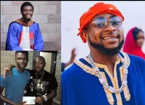 Young Man Whom Davido Helped Raise Funds For Graduates With First Class
