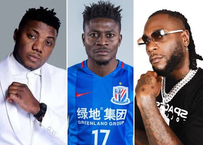 How Burna Boy Confronted Obafemi Martins And Asked Him To Prostrate At Quilox Club
