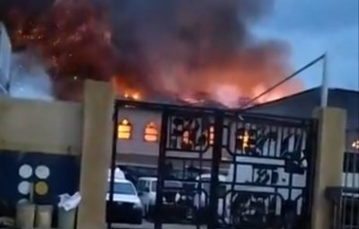 Worshippers Reportedly Trapped as RCCG Parish Gutted With Fire