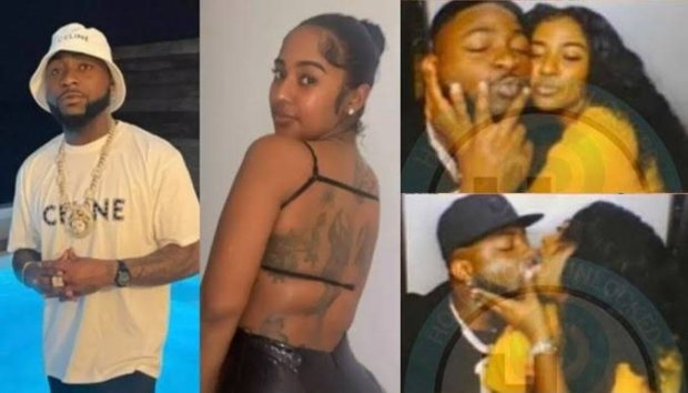 +18 ONLY: See Steamy Photos of Davido's Rumoured New Girlfriend