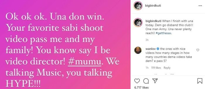 STARBOY!!! Wizkid Reacts As Seun Kuti Continue To Slam His Fanbase