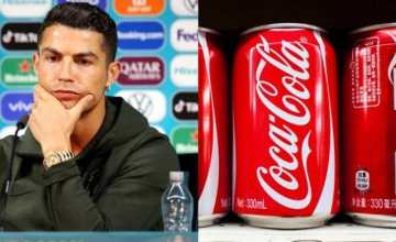 Coca-Cola Reacts To Cristiano Ronaldo's Gesture (See Their Response)