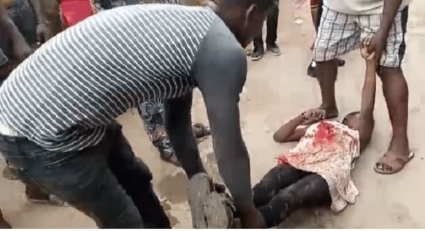 BREAKING NEWS!! 14 Year Old Girl Hit By Stray Bullet (Photos)