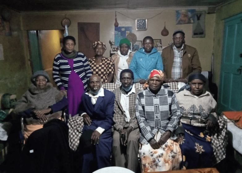 PHOTO! Kenyan Man Returns Home 47 Years After He Was Sent To Buy Rice For His Family