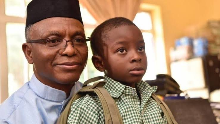 BREAKING: El-Rufai Withdraw His Seven Year Old Son From Public School (See Why)