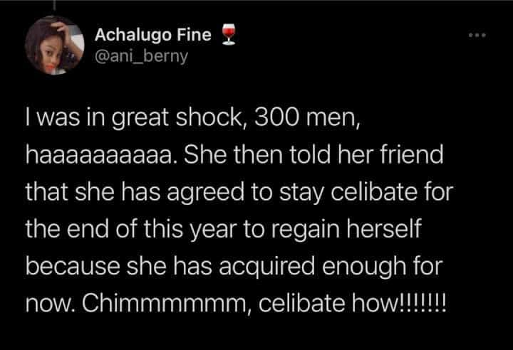 INSIDE LIFE: Lady Set To Go Celibate After Allegedly Sleeping With 300 Men To Buy An iPhone And Lexus Car