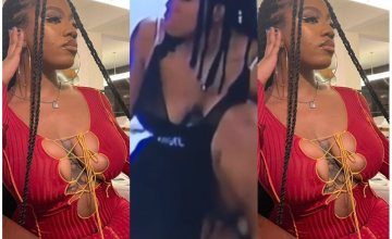 BBNaija: Mixed Reactions Spanks As Angel Was Caught Touching Her Private Part (video)