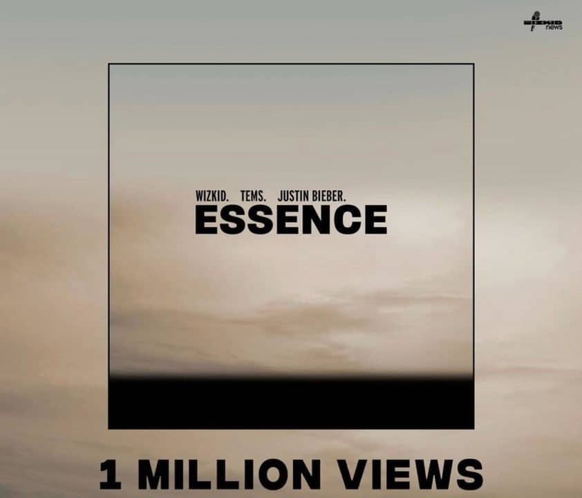 Wizkid 'Essence' Remix Makes US Top 30, Hits A Million YouTube Views In 23 Hours