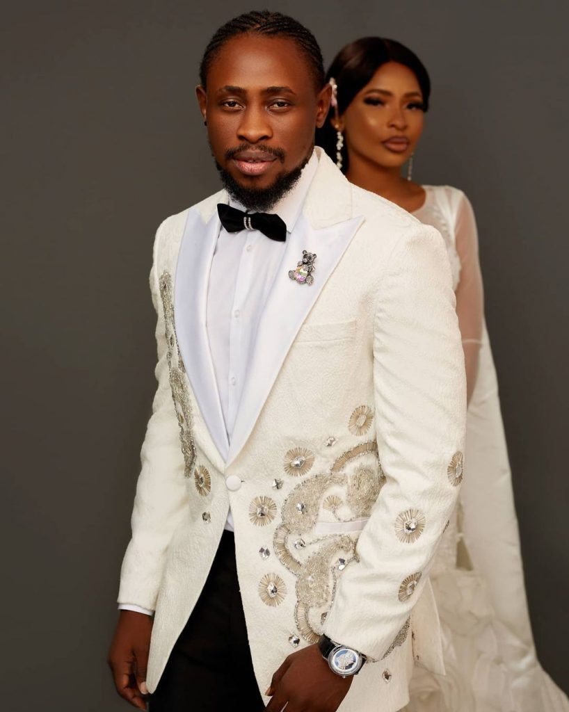 Wedding Pictures Of Trikytee And His Wife