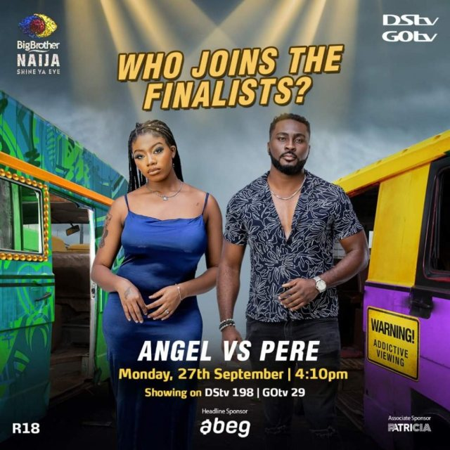 Pere And Angel To Return To The BBNaija House As They Join The Finale