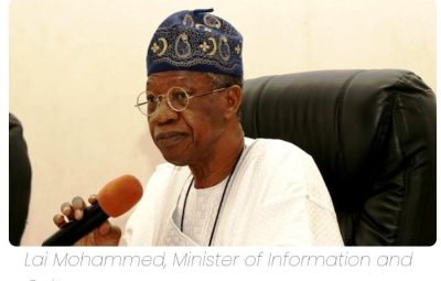₦20 Million Bribe To Bandits: Lai Mohammed Speaks, Says It's Fake News