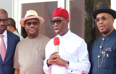 South South Governors set to launch regional security outfit